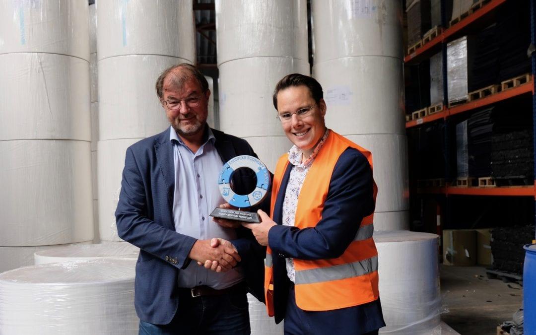 Schut Papier ontvangt Circular Economy Award